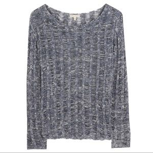 Eileen Fisher Cotton Wonder Ladder Pullover